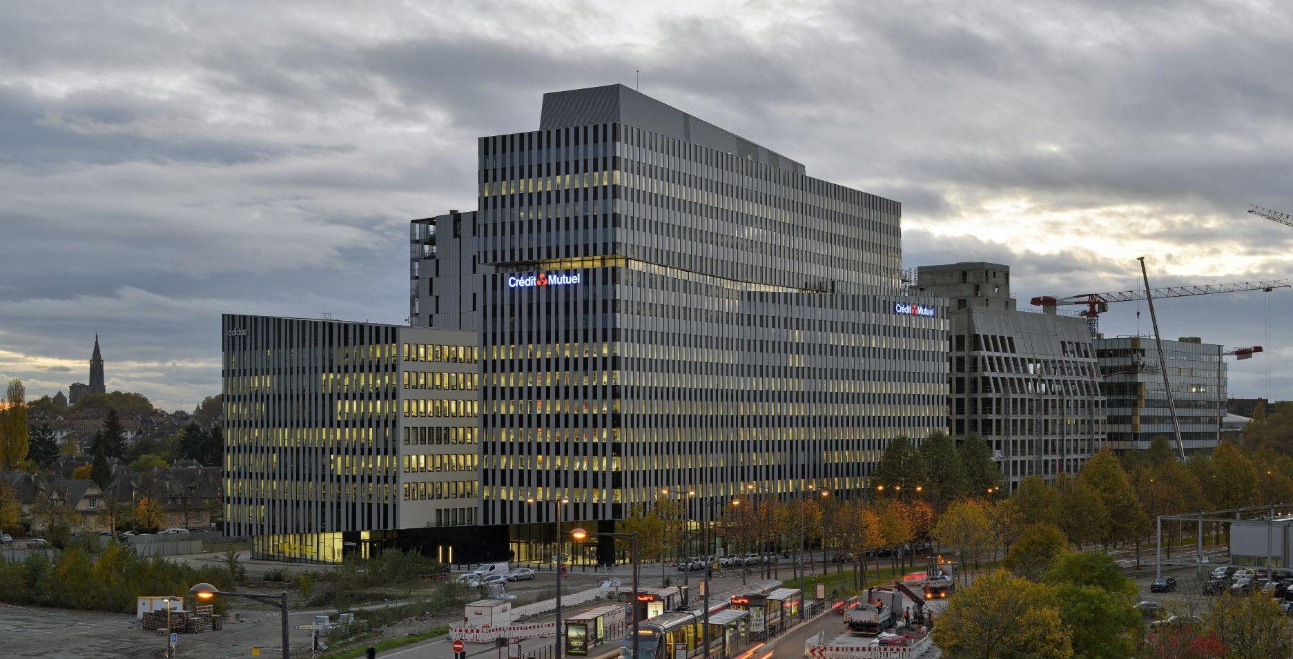 Quartier d'affaires international Archipel 1, WACKEN EUROPE