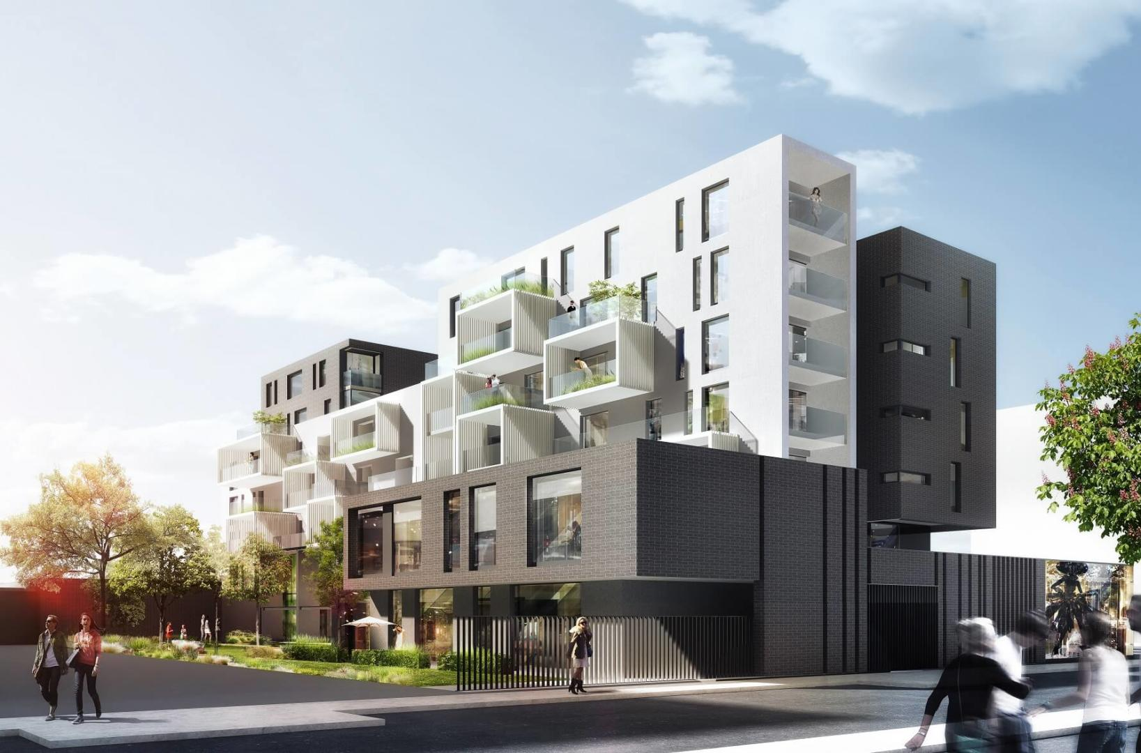 AeA Architectes Construction Immeuble Belles Lettres