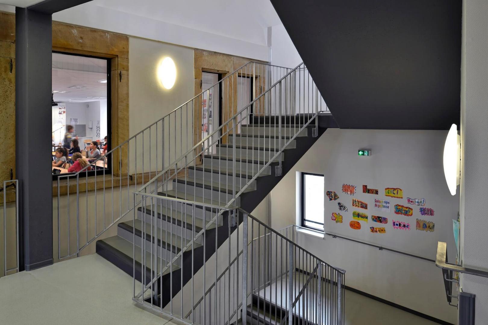 AeA Architectes Réhabilitation et Extension Groupe Scolaire Carspach