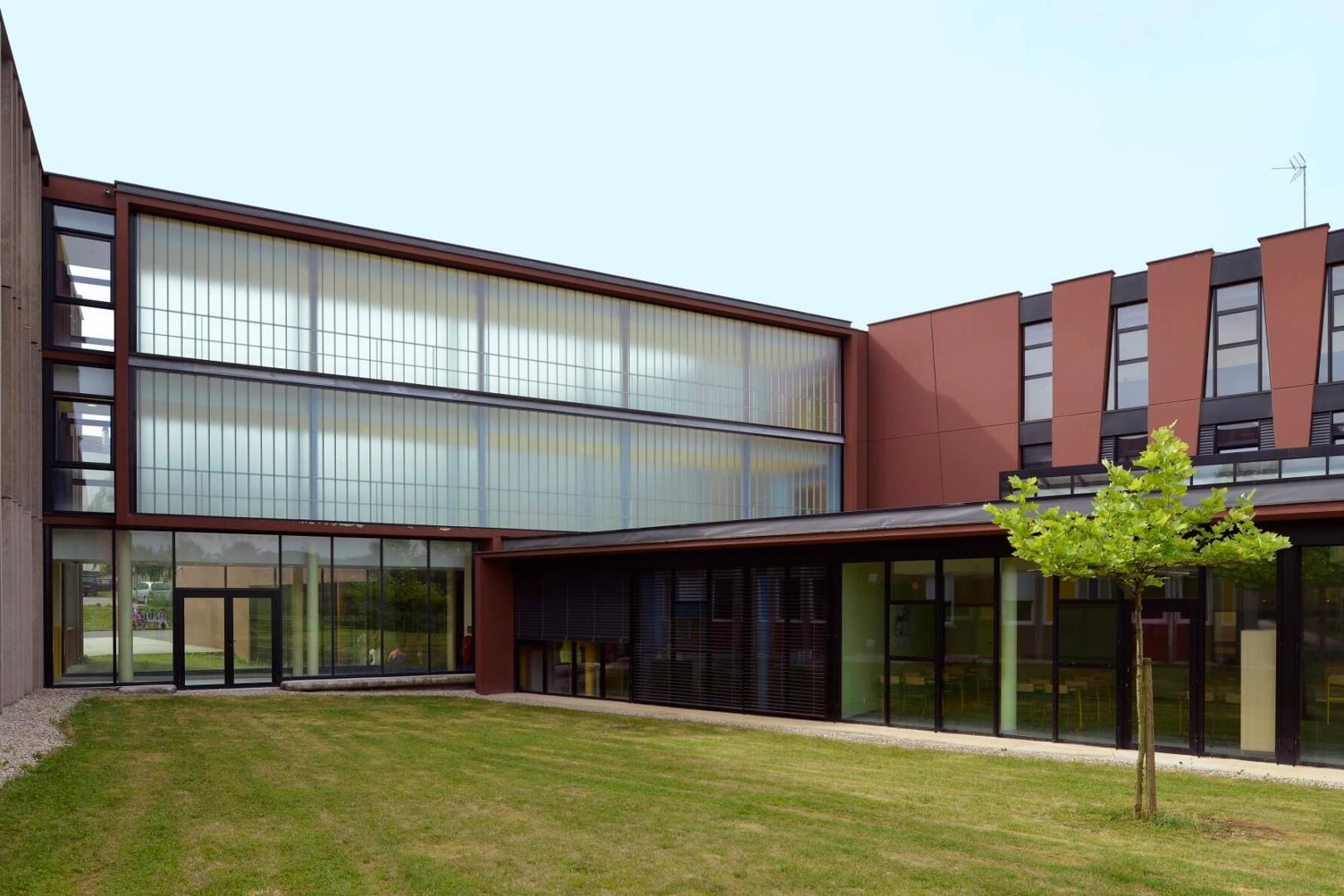 AeA Architectes Extension Collège Albert Camus