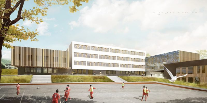 AeA Architectes Extension et Restructuration Collège Haut-de-Penoy