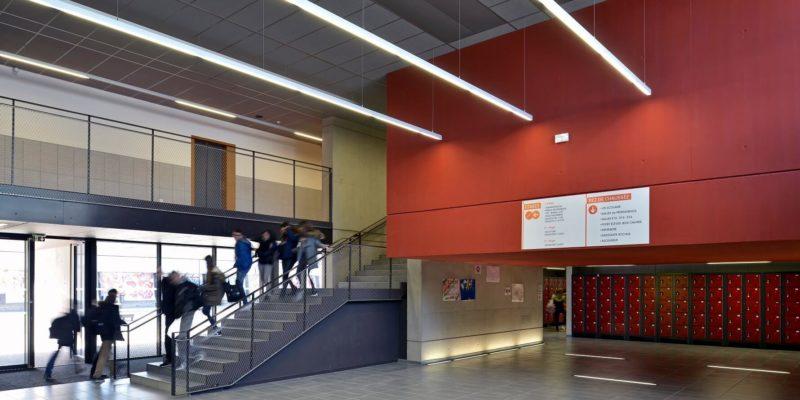 AeA Architectes Extension et Restructuration Collège Jean-Jacques Rousseau
