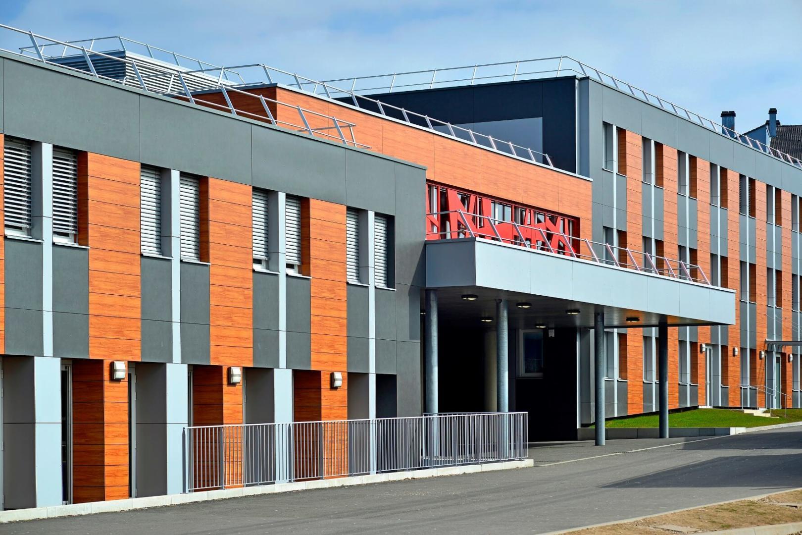 AeA Architectes Restructuration Collège de Lure