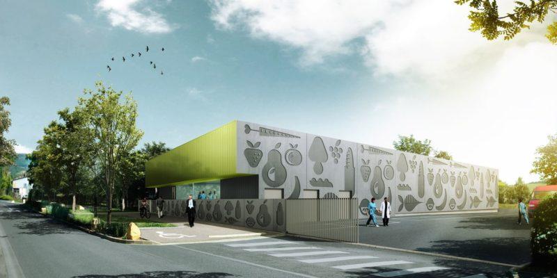 AeA Architectes Construction Cuisine Centrale