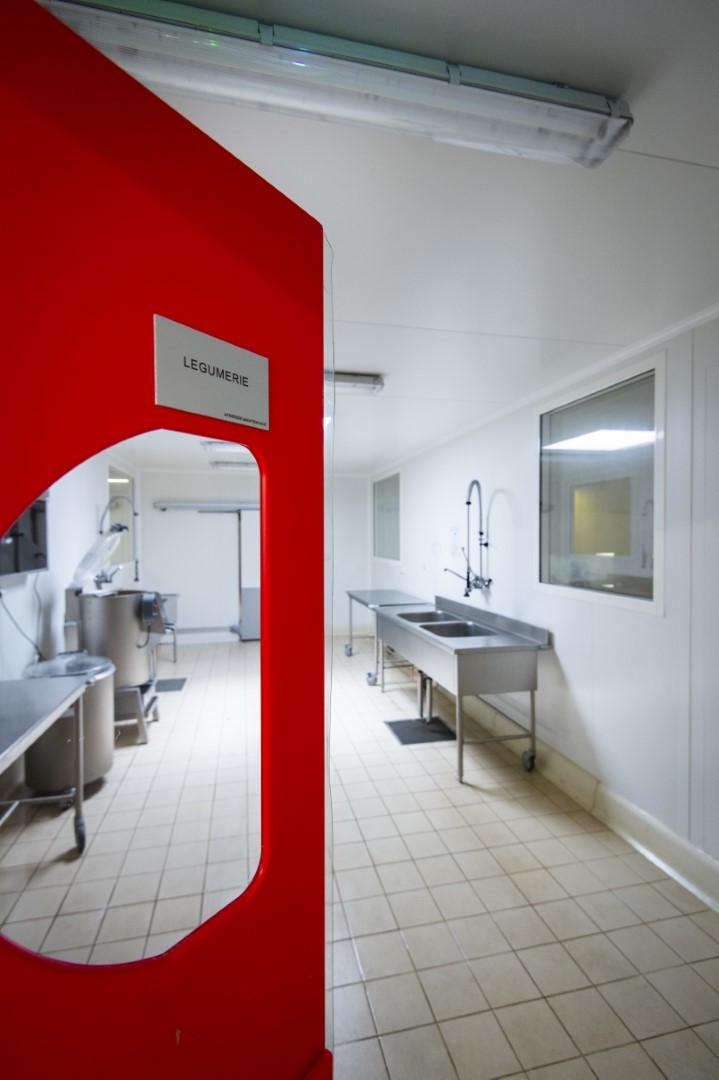 Construction cuisine centrale grand est aea architectes - Definition d une cuisine centrale ...