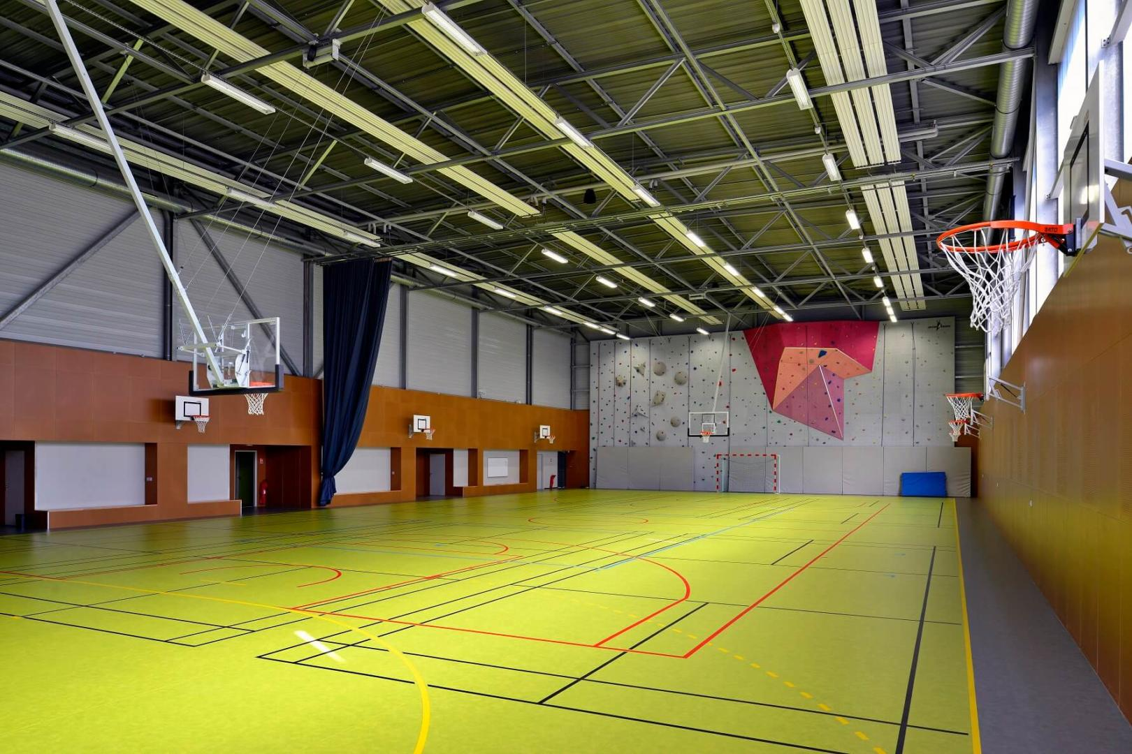 Aea Architectes Gymnase Bel Air