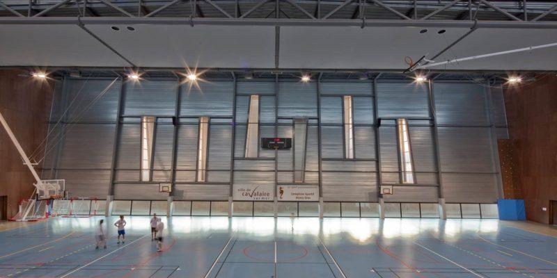 AeA Architectes Restructuration Gymnase Cavalaire