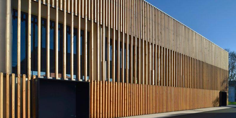 Aea Architectes Réhabilitation Gymnase Erckmann Chatrian