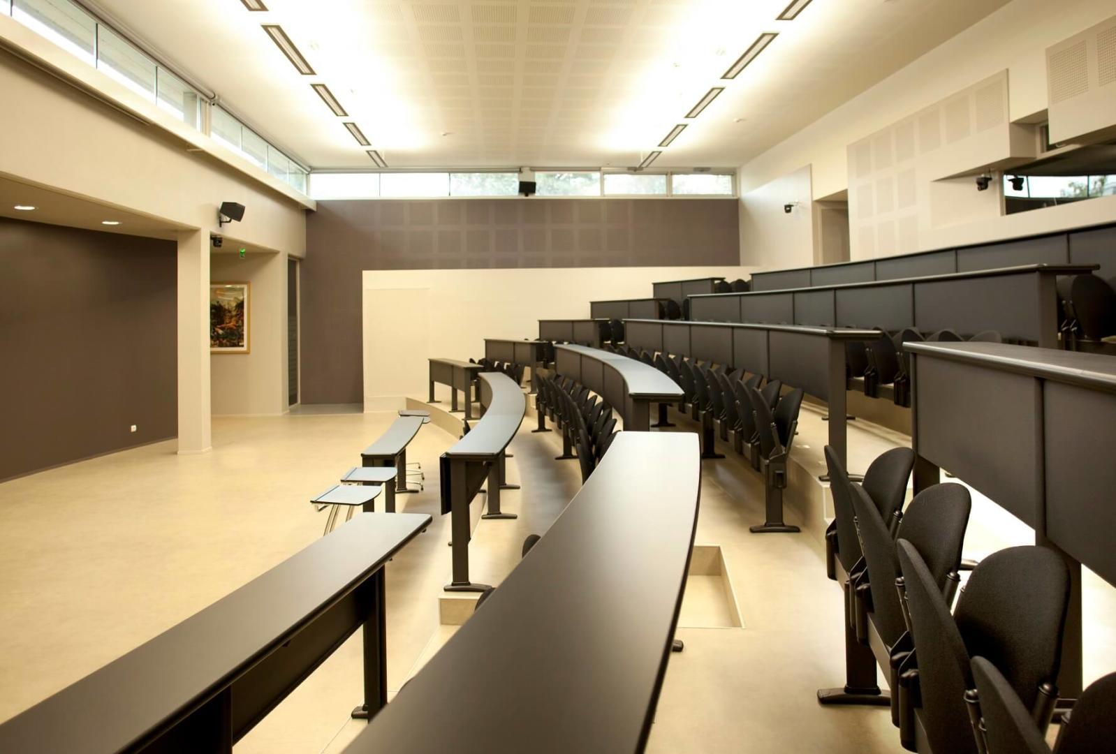AeA Architectes Création Amphithéâtre IPCH