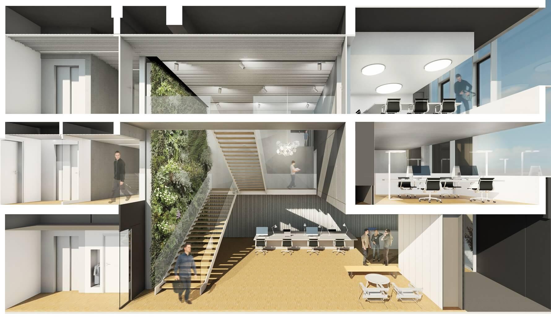 AeA Architectes Extensions ISIS et Création Datacenter