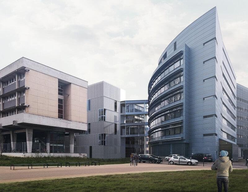 extension bureaux et cr ation datacenter strasbourg aea architectes. Black Bedroom Furniture Sets. Home Design Ideas