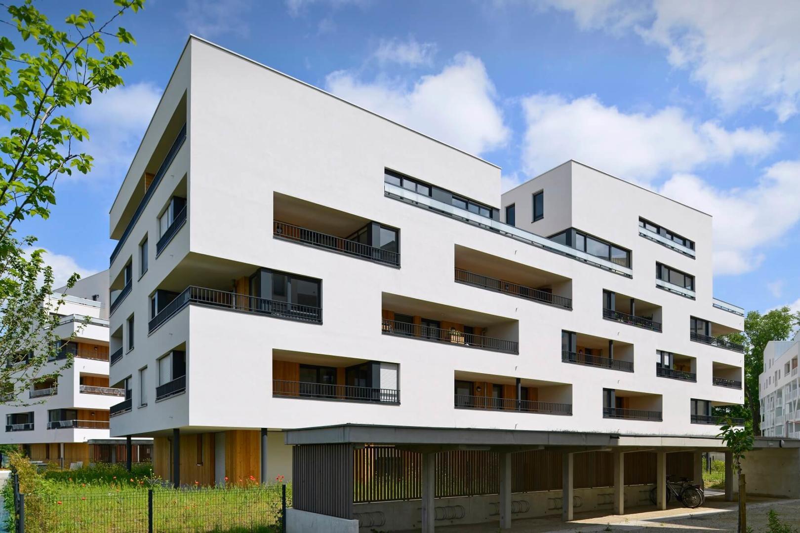 AeA Architectes Construction Résidence Les Boréales à Ostwald