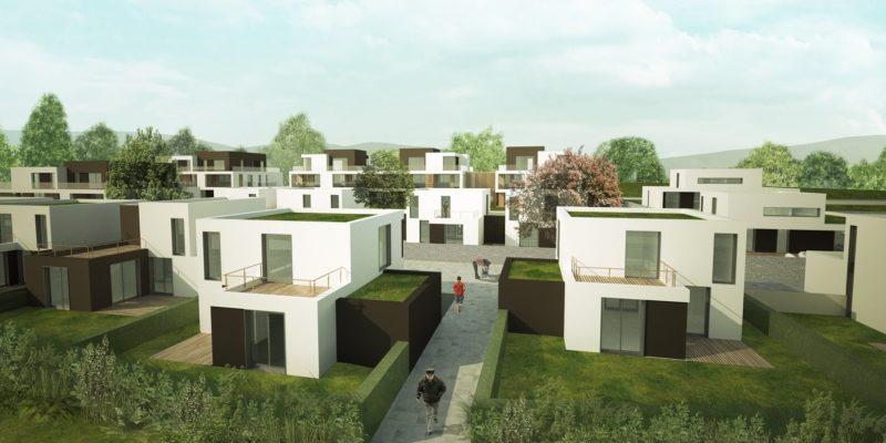 AeA Architectes Construction logement Les Terrasses Amandine