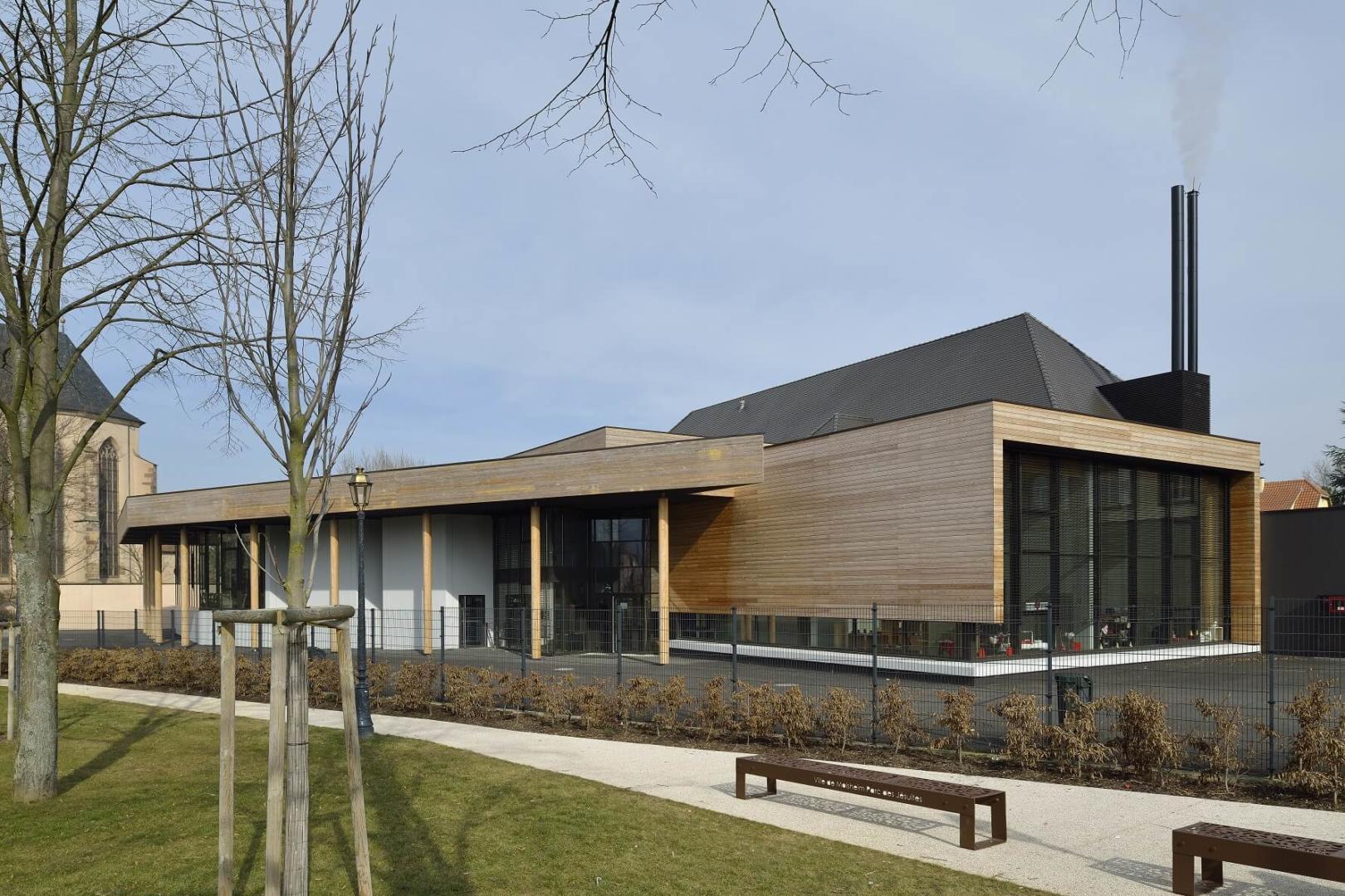 AeA Architectes Extension et Restructuration Lycée Camille Schneider