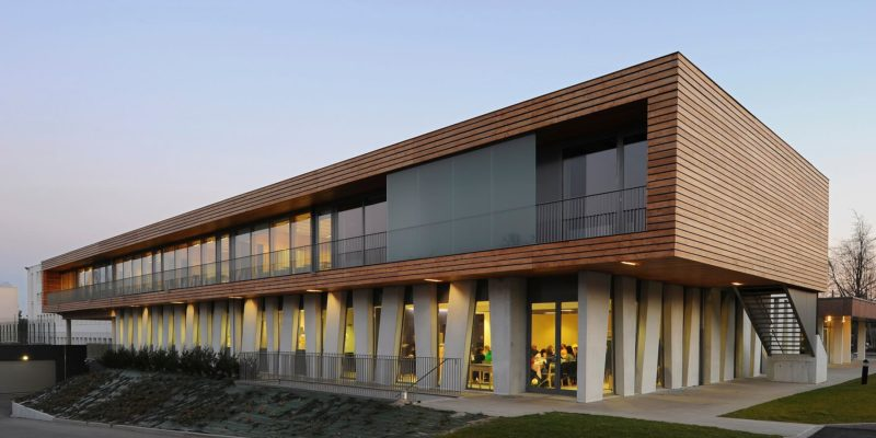 AeA Architectes Construction Lycée Storck