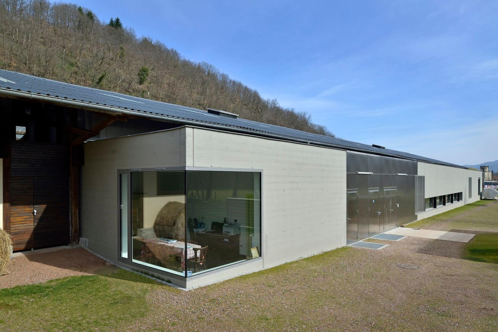 Architecture atelier production fromage gunsbach aea - La maison du fromage saint nectaire ...