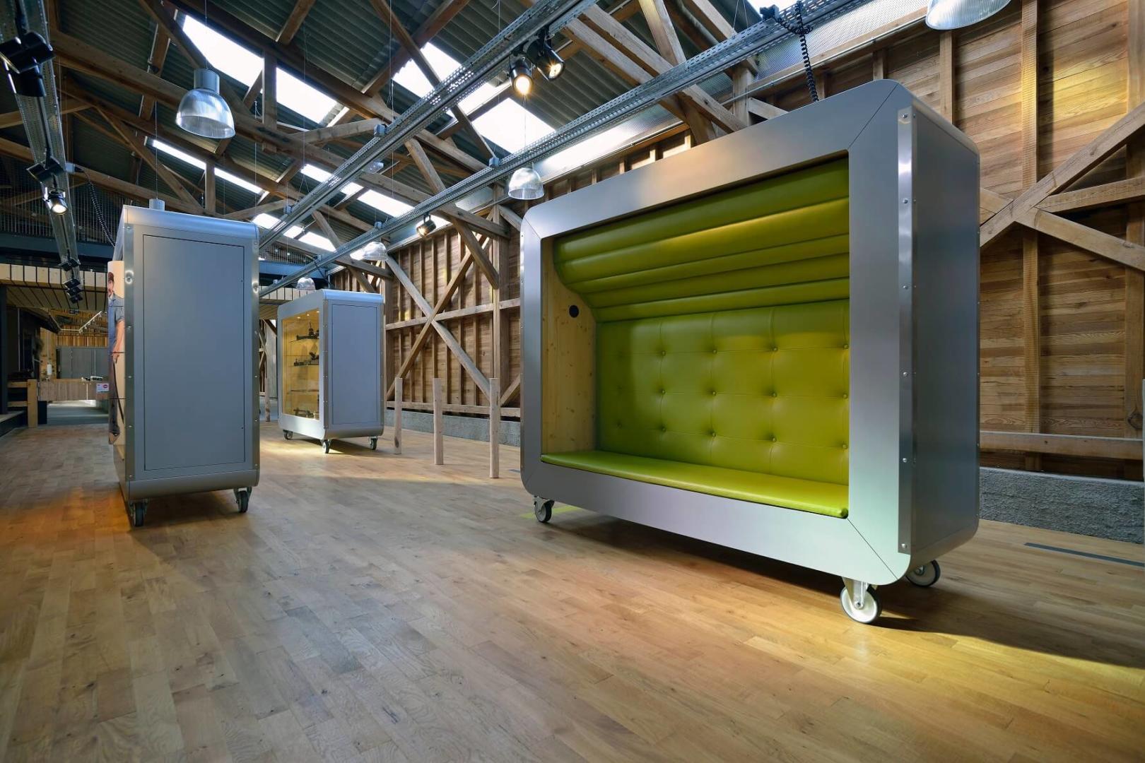 AeA Architectes Réalisation et transformation La Maison du Fromage