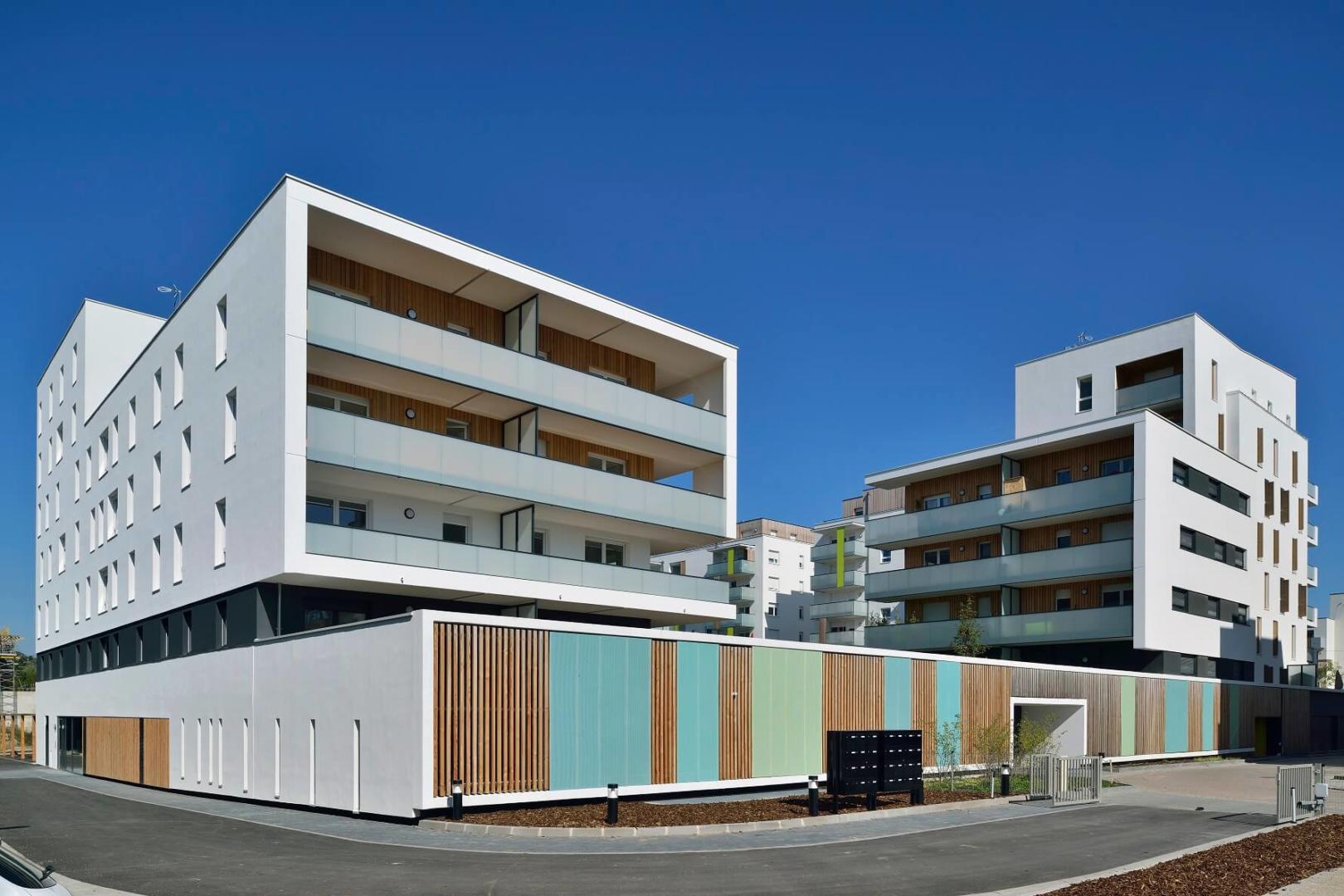 AeA Architectes Création Logements et Parkings Natureo