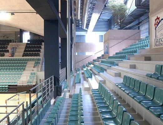 Aea Architectes Rénovation palais des Sports Mulhouse
