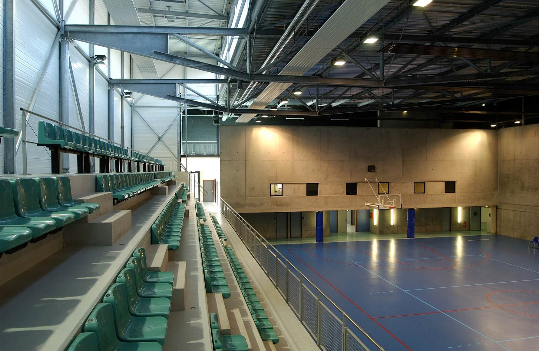 Aea Architectes Rénovation palais des Sports Mulhouse