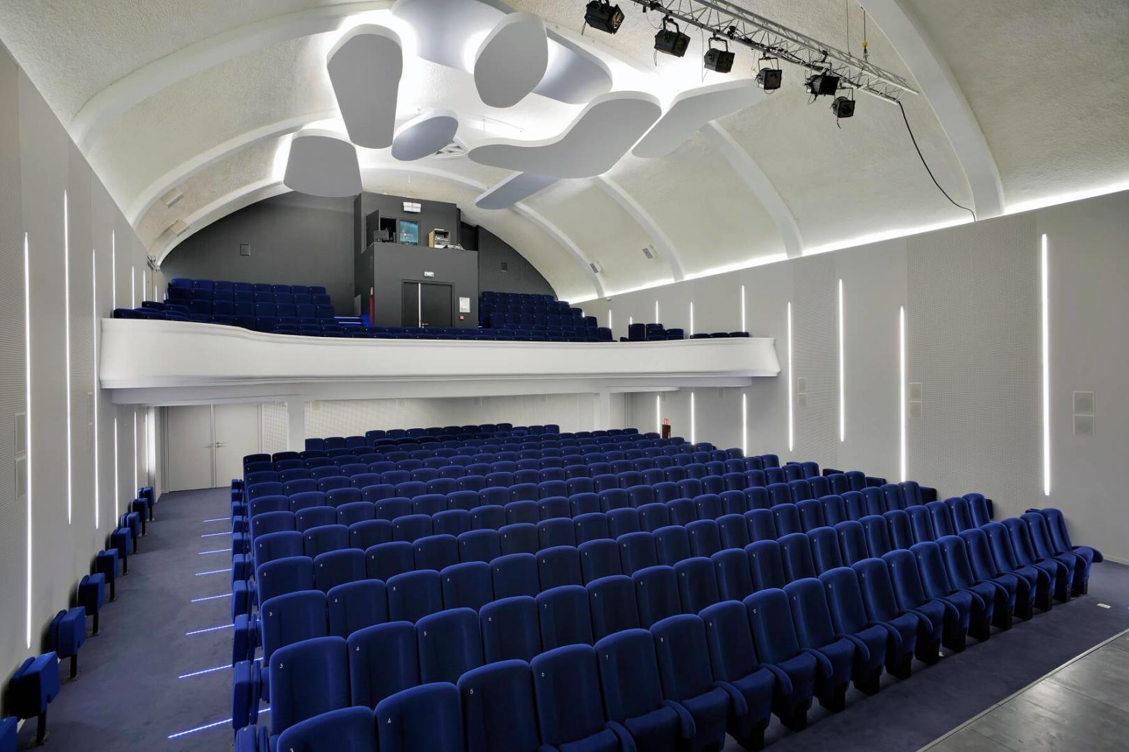 AeA Architectes Réhabilitation Cinéma Théâtre Raon l'Etape