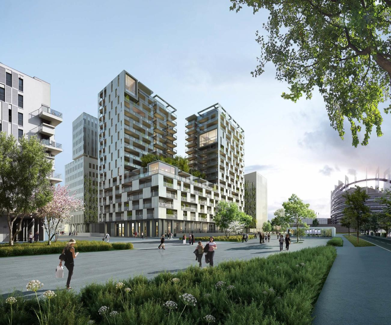 AEA Architectes Construction Bâtiments Bureaux Wacken Strasbourg
