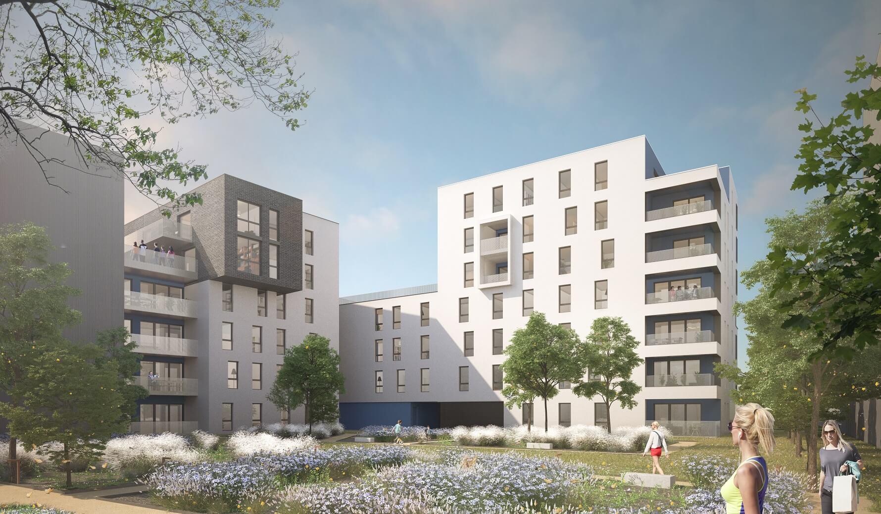 AeA Architectes Construction Immeubles ZAC Poteries à Strasbourg