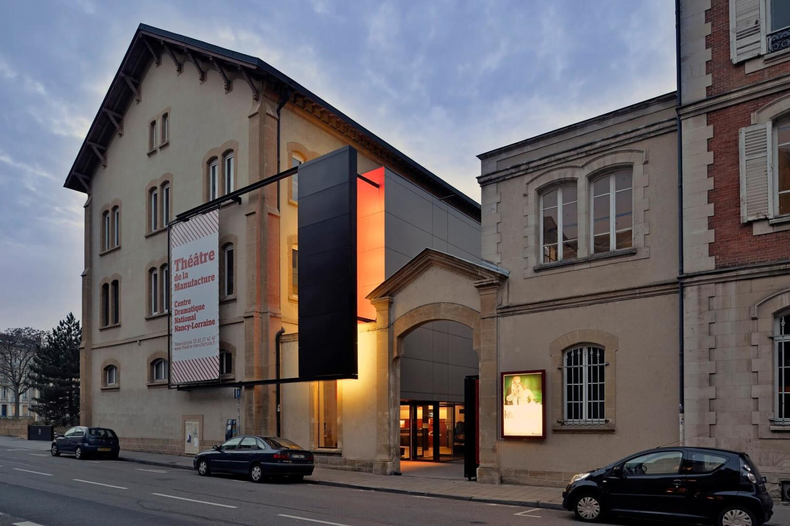AeA Architectes Réhabilitation Théâtre Manufacture Nancy
