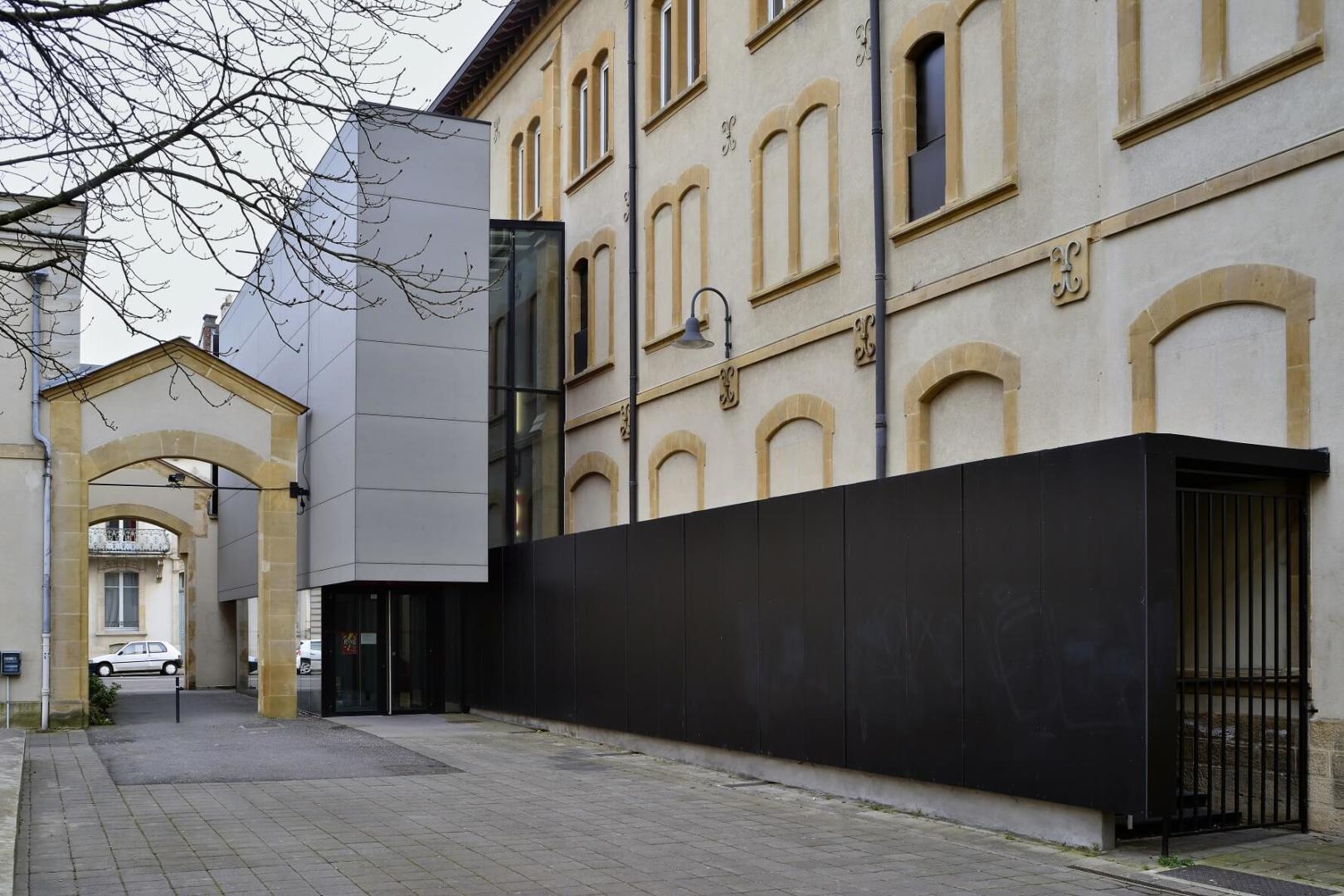AeA Architectes Réhabilitation Théâtre Manufacture Nancy