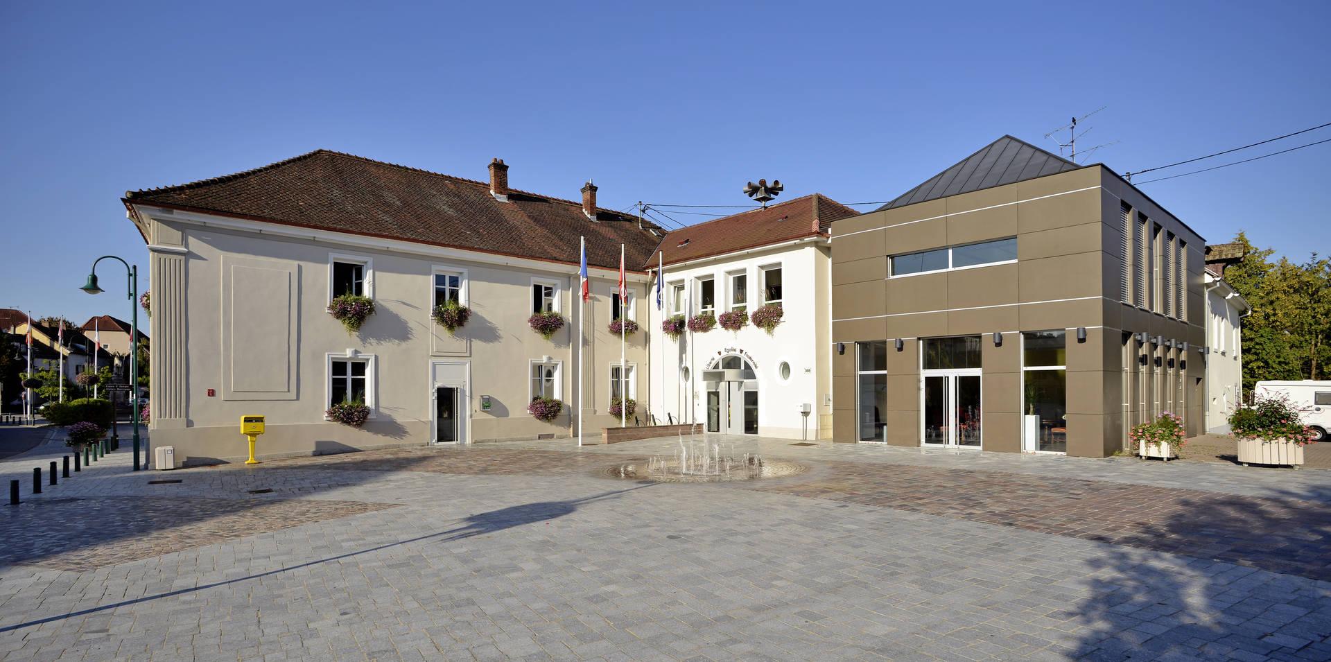 Mairie de Brunstatt.