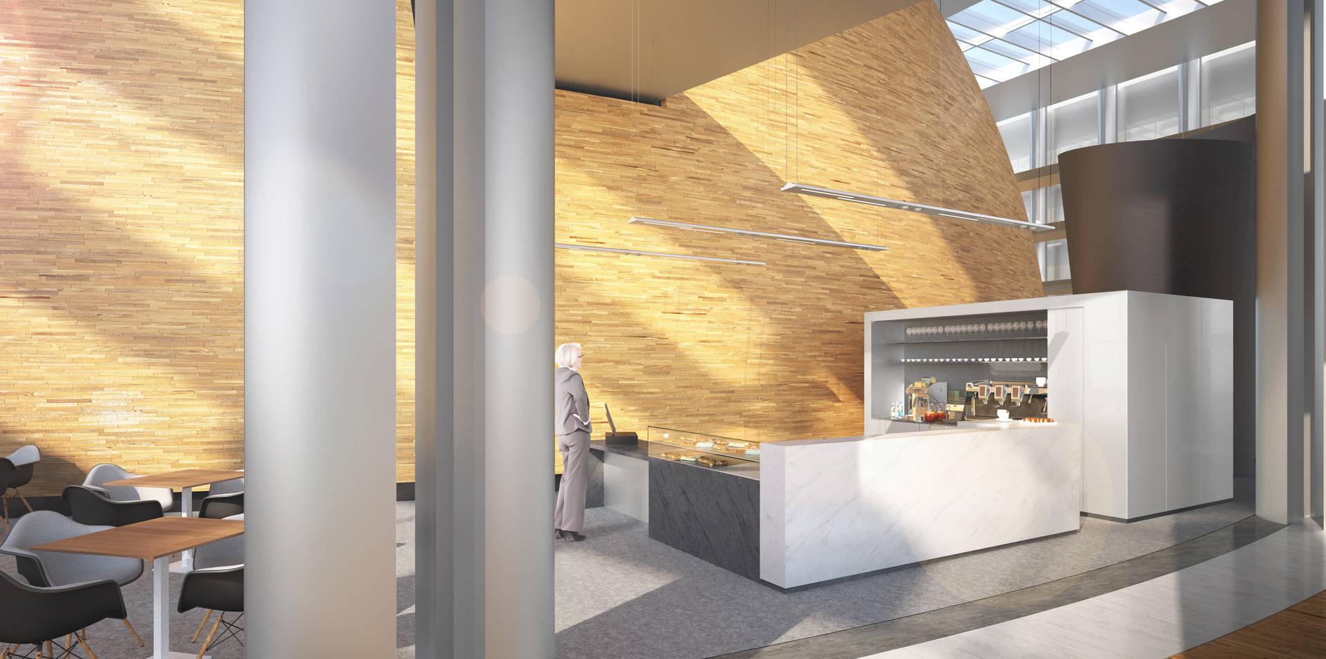 Cr ation d 39 un bar par cabinet architectes strasbourg aea architectes - Cabinet architecte strasbourg ...