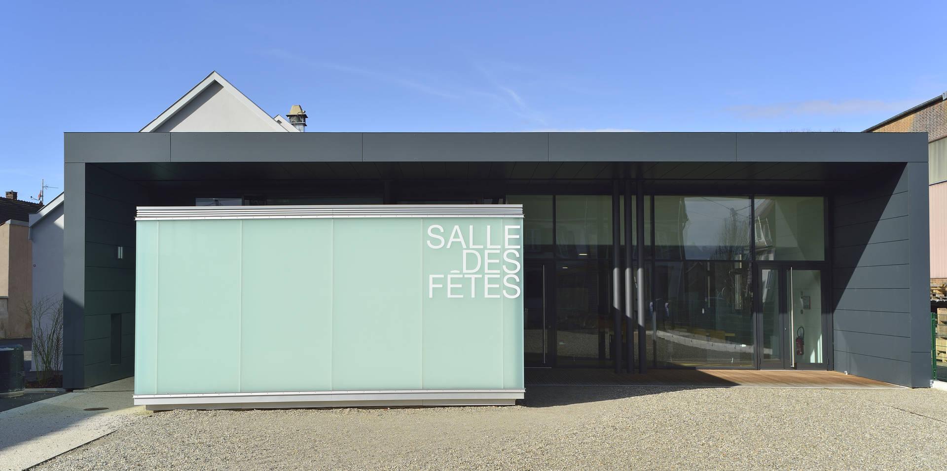 Salle des fêtes d'Illkirch Graffenstaden