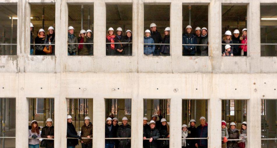Visite d'agence sur le chantier Smart place / Archipel Strasbourg