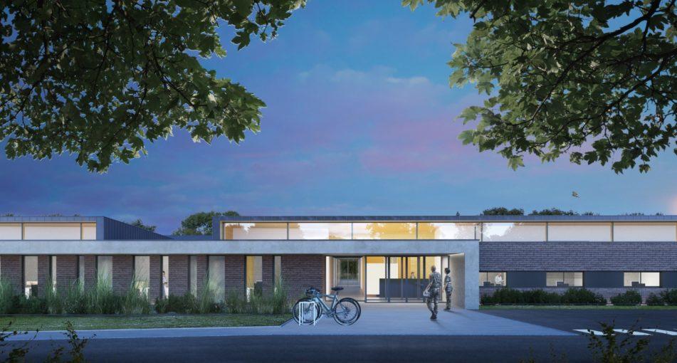 AEA architectes remporte le concours pour la reconstruction de l'antenne médicale de la base de défense de Bitche