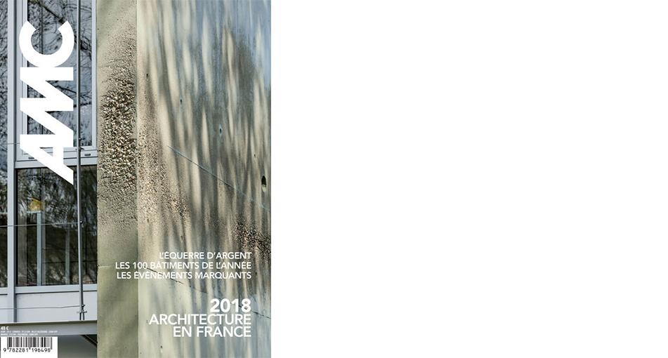 Publication dans la revue AMC: AEA architectes parmi les lauréats du prix AMO 2018