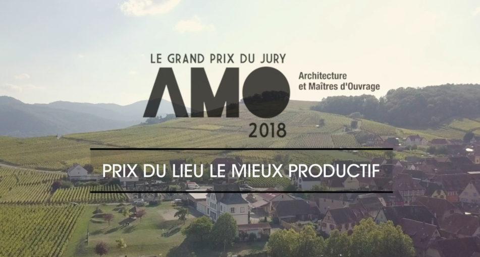 Découvrez la maison Ferber, lauréat du prix AMO 2018 <br> «&#160;lieu le mieux productif&#160;»