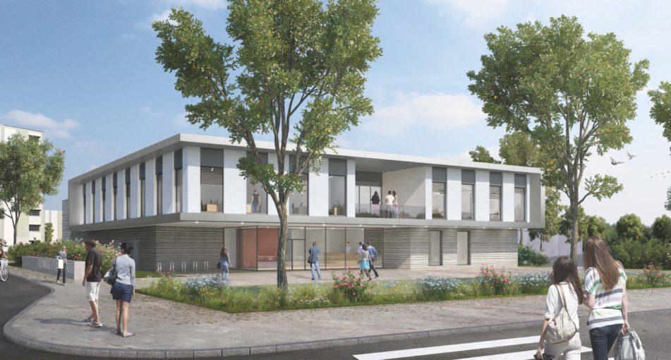 AEA architectes lauréat du concours pour la construction d'une pépinière d'entreprises à Colmar