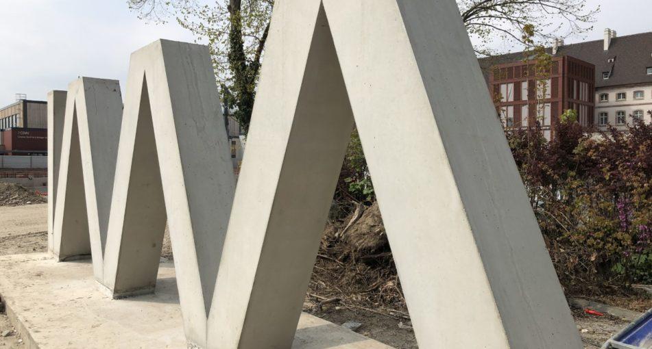 Inauguration du parking «Montagne verte» à Colmar (68)