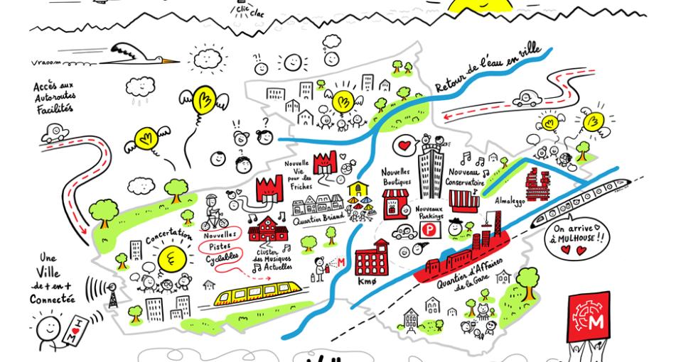 Mulhouse, une ville en mouvement