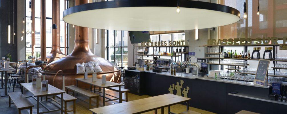 Inauguration de la brasserie des 3 BRASSEURS à Strasbourg-Cronenbourg (67)