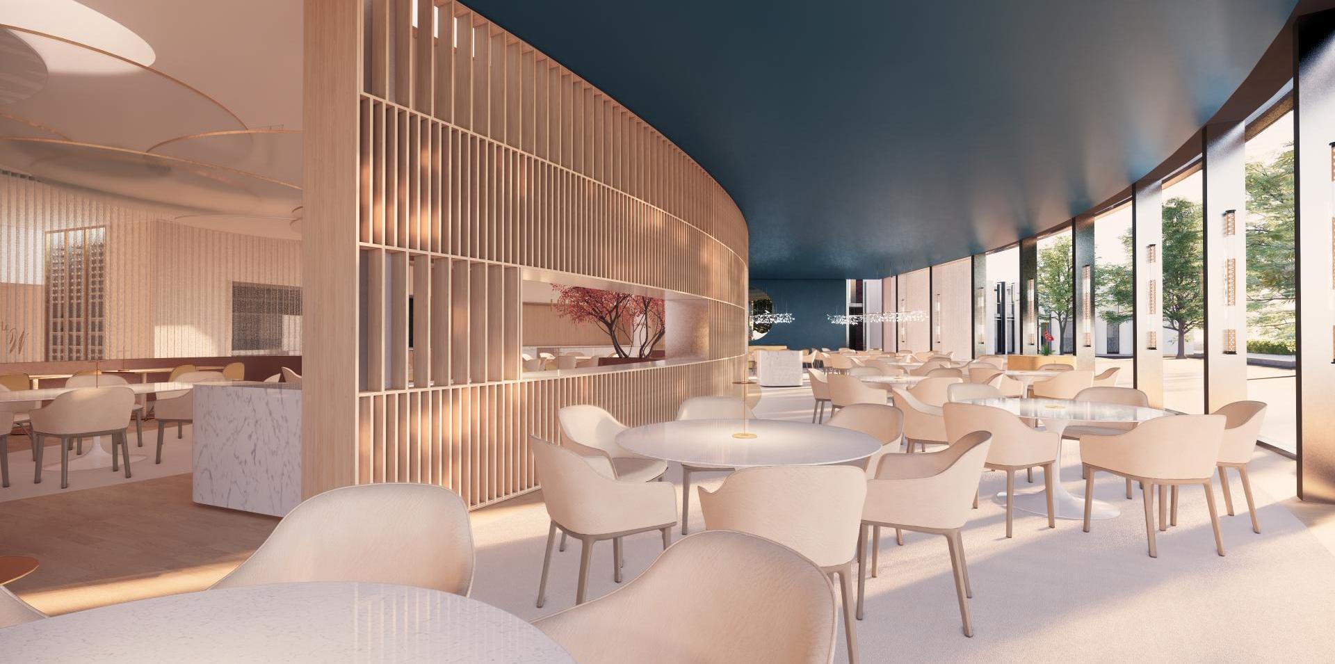 restaurant, lounge et salon des députés du parlement européen